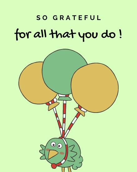 create free So Grateful group card