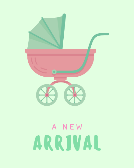 create free New Arrival group card