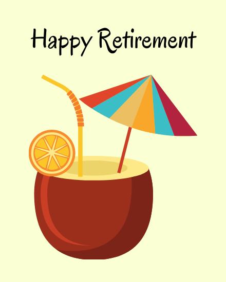 create free Retirement Enjoy group card