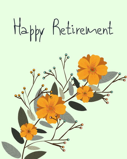 create free Happy Retirement group card