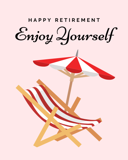 create free Enjoy Yourself group card