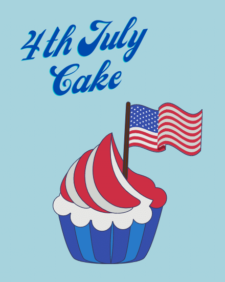 create free July Cake group card