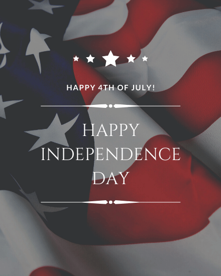 create free 4th of July group card