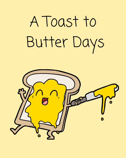 create free Butter Days group card