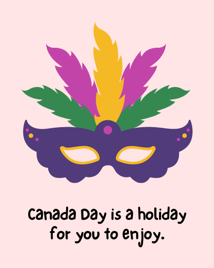create free holiday to enjoy group card