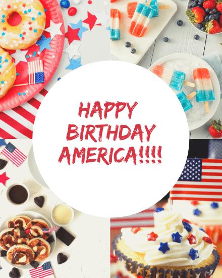 create free Birthday America group card