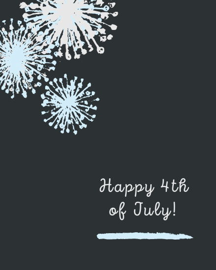 create free Fourth of july group card