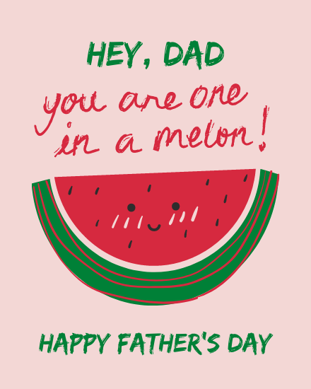 create free one in a Melon group card