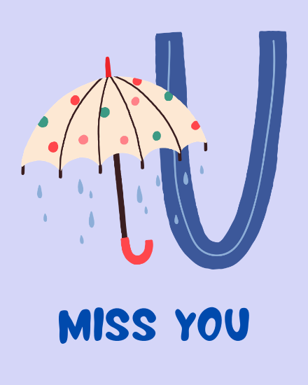 create free Miss you group card