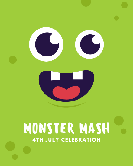create free Monster Mash group card