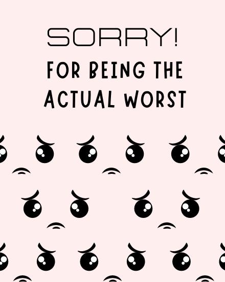 create free Sorry group card