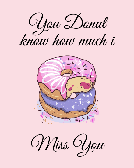 create free You Donut Know group card