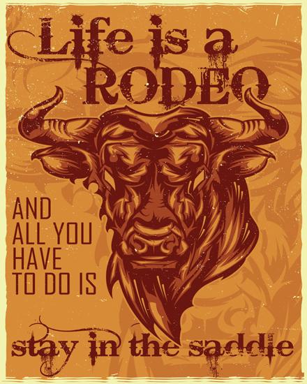 create free Angry bull group card