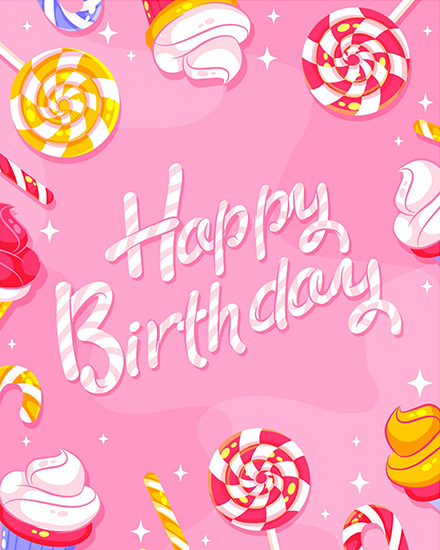 create free Birthday Wishes group card