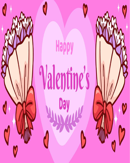 create free Bouquets of love group card
