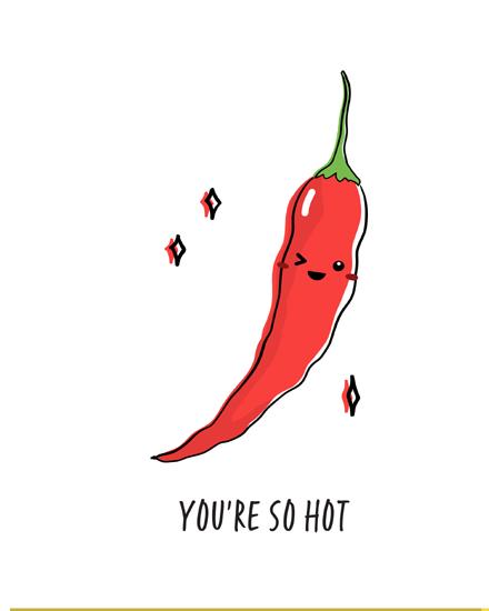create free Chilli pepper group card