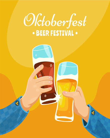 create free Classic Oktoberfest group card