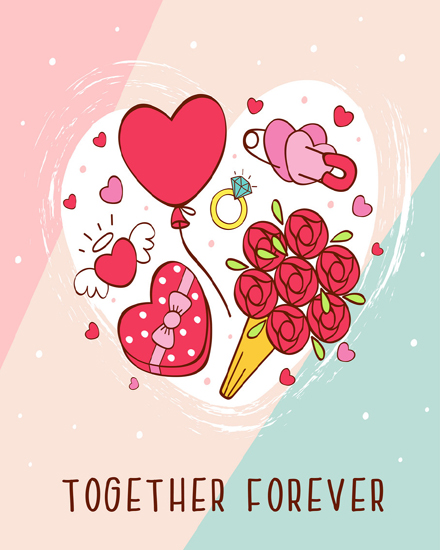 create free Gifts of love group card