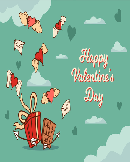 create free Heartwings  group card