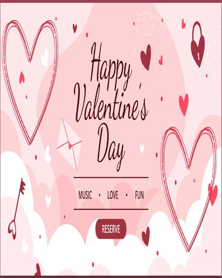 create free Heart Key group card
