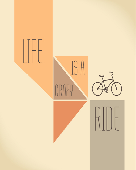 create free Life is crazy ride group card