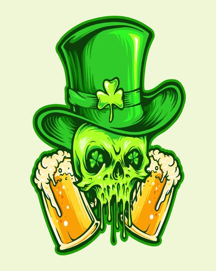 create free St Patrick group card
