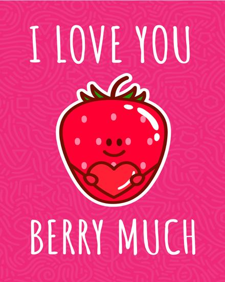 create free Strawberry group card