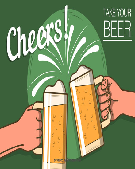 create free Take your beer group card