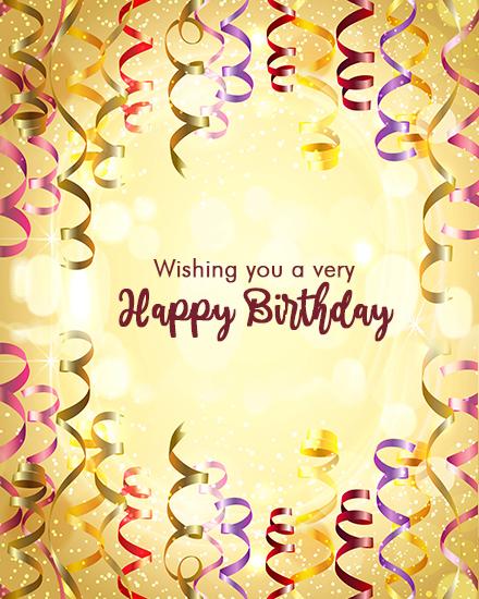 create free Birthday Ribbon group card