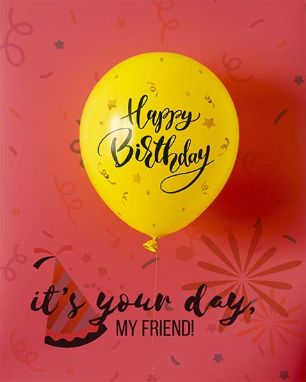 create free It's Your Day group card
