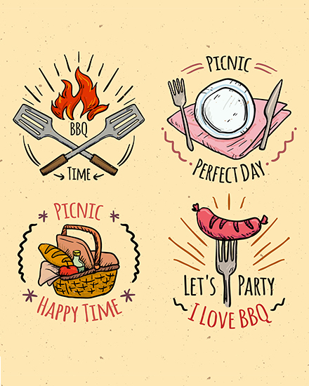create free Picnic Party group card