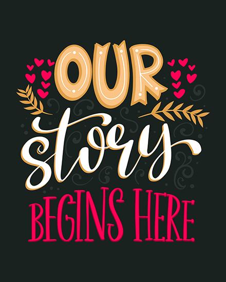 create free Story Begins group card
