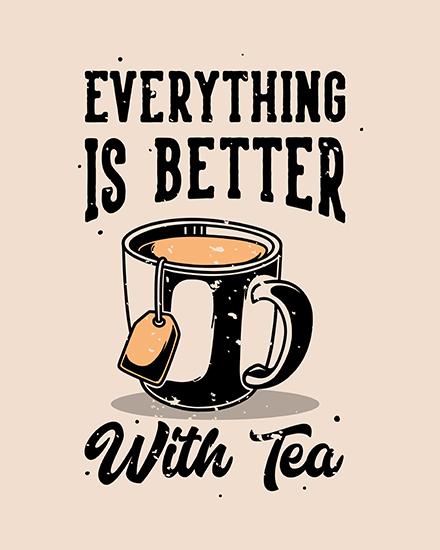 create free Tea Party group card
