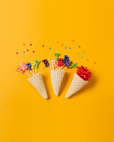 create free Waffle Cones group card