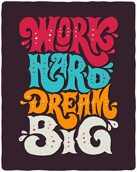 create free Dream Big group card