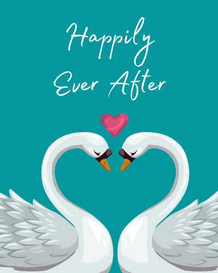 create free Happily Ever After group card