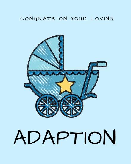 create free Adaption group card