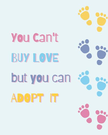 create free Adopt it group card