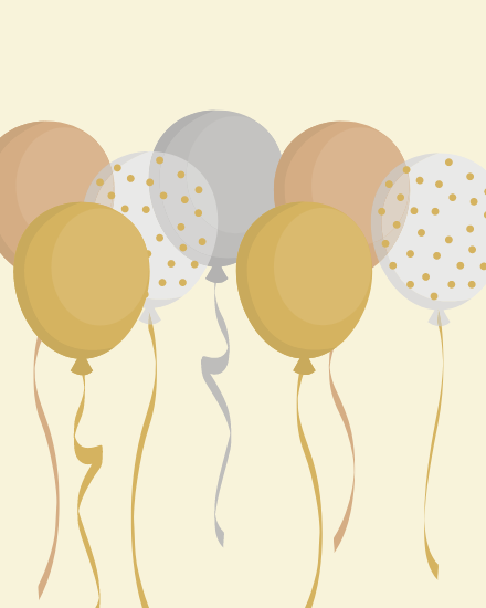 create free Balloons group card
