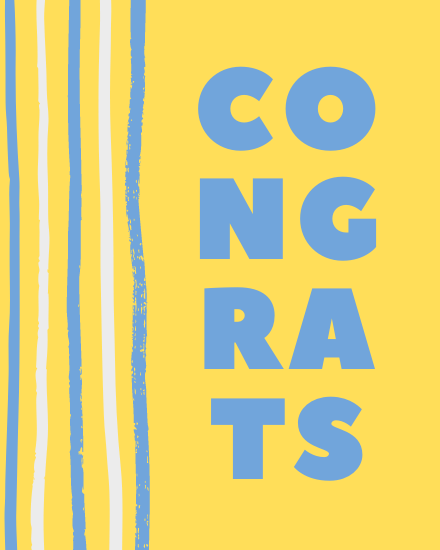 create free Congrats group card