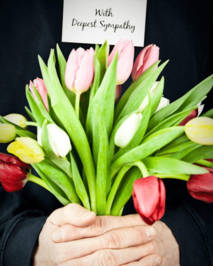 create free Floral Sympathy group card
