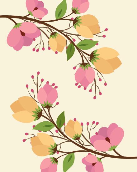 create free Flower group card
