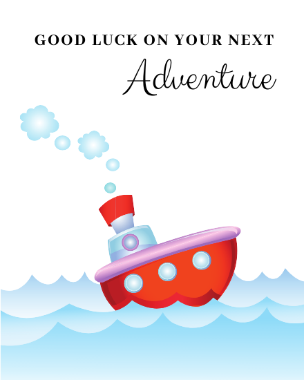 create free New Adventure group card
