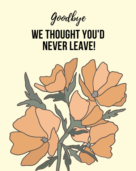 create free Never Leave group card