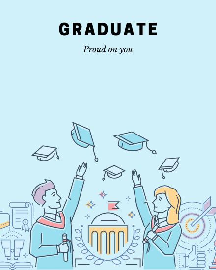 create free Graduate group card