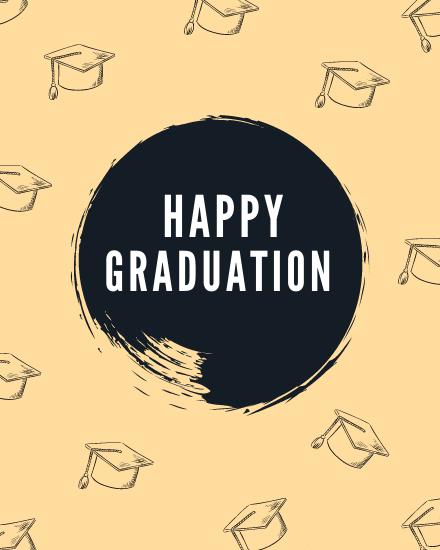 create free Happy Graduation group card