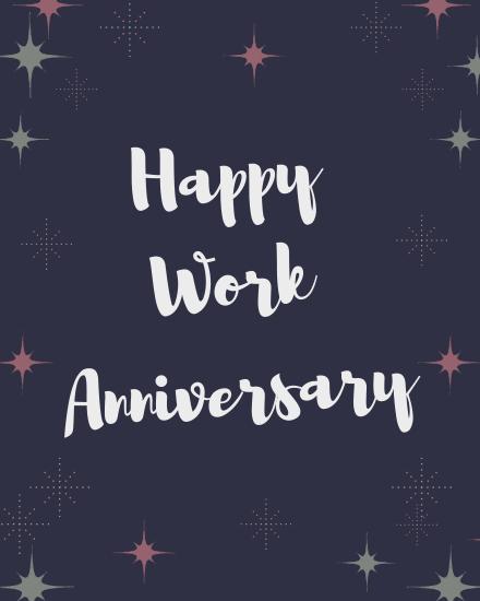 create free  Work Anniversary group card