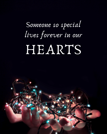 create free In our hearts group card