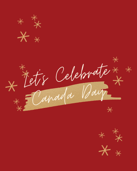 create free Let's Celebrate group card