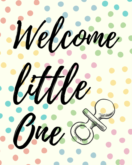 create free Little One group card
